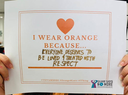 2020 Wear Orange Day - February 11