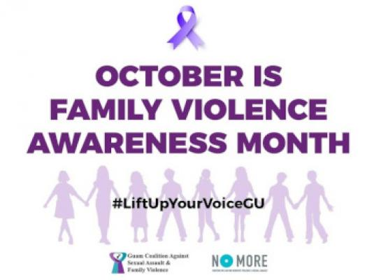 October 2020 - Family Violence Awareness Month