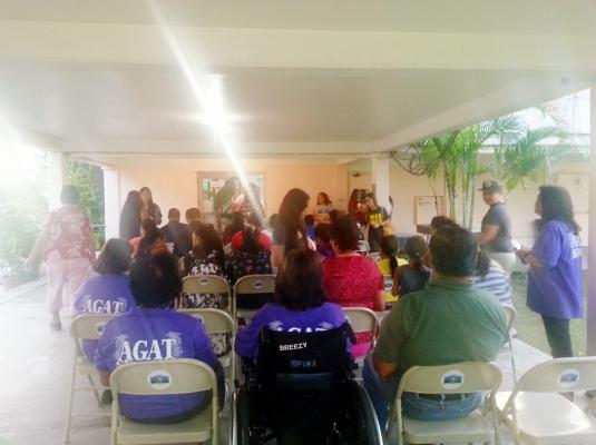 Candlelight Vigil Commemorating Human Trafficking Awareness Month- Agat