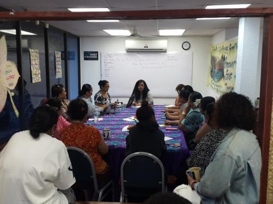Technical Assistance Visit - American Samoa 2016