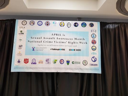 Sexual Assault Awareness Month/National Crime Victim Rights Week Proclamation Signing and Legislative Resolution - April 8, 2019