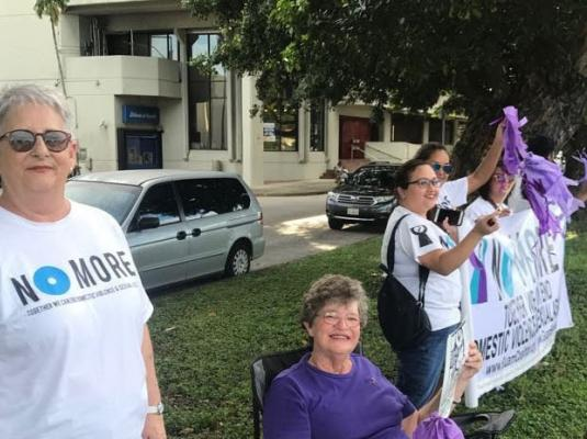 2017 Wave in Support of Domestic Violence Awareness Month