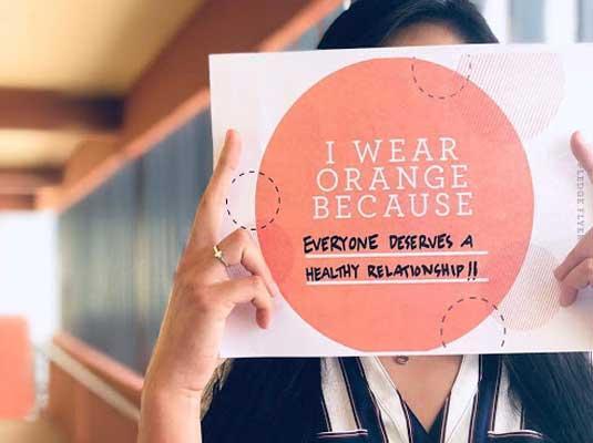 Wear #Orange4Love for Teen Dating Violence Awareness Month 2019