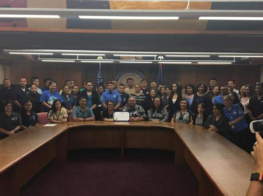 Sanctuary Month Proclamation Signing – October 29, 2019