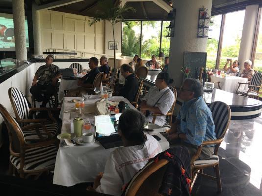 2017 Pacific Partners Project Technical Advisory Group Meeting, Saipan