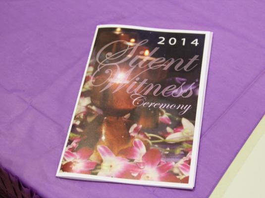 2014 Silent Witness Ceremony
