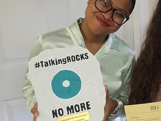#TalkingROCKS Campaign 2019 – April 17, 2019-May 10, 2019